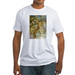 ALICE AND THE CAUCUS RACE Fitted T-Shirt