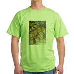 ALICE AND THE CAUCUS RACE Green T-Shirt