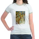 ALICE AND THE CAUCUS RACE Jr. Ringer T-Shirt
