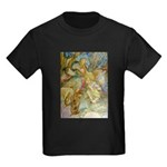 ALICE AND THE CAUCUS RACE Kids Dark T-Shirt
