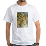 ALICE AND THE CAUCUS RACE White T-Shirt