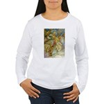 ALICE AND THE CAUCUS RACE Women's Long Sleeve T-Sh