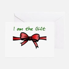 I Am the Gift Greeting Card