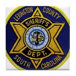 Lexington County Sheriff Tile Coaster