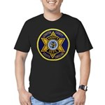 Lexington County Sheriff Men's Fitted T-Shirt (dar