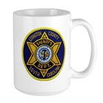 Lexington County Sheriff Large Mug