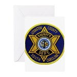 Lexington County Sheriff Greeting Cards (Pk of 20)