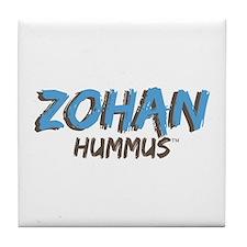 Cute Hummus Tile Coaster