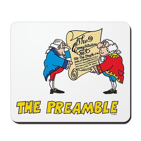 The Preamble Mousepad