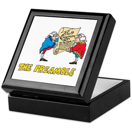 The Preamble Keepsake Box