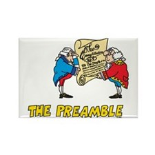 The Preamble Rectangle Magnet