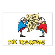 The Preamble Postcards (Package of 8)