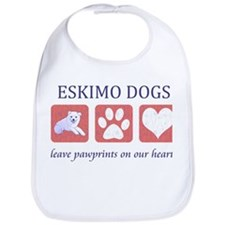 Eskimo Dog Lover Bib