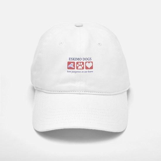 Eskimo Dog Lover Baseball Baseball Cap