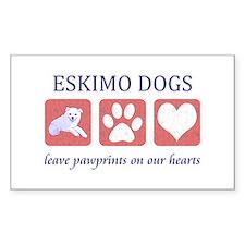 Eskimo Dog Lover Decal