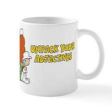 Adjectives Mug