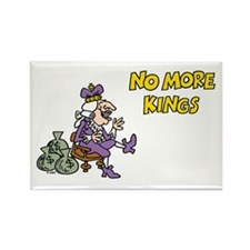 No More Kings Rectangle Magnet
