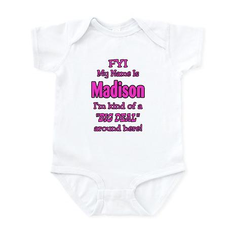 Madison Infant Bodysuit