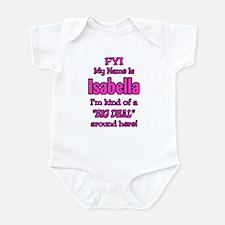 Isabella Infant Bodysuit