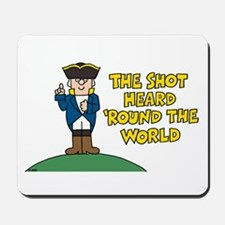 The Shot Mousepad