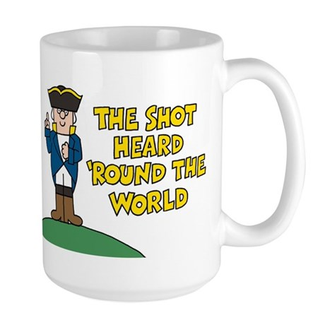 The Shot Large Mug
