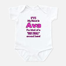 Ava Infant Bodysuit