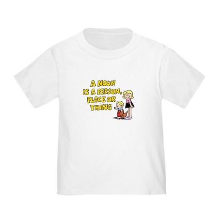A Noun Toddler T-Shirt