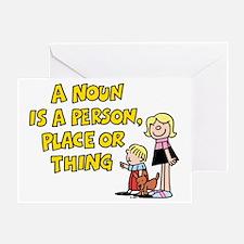 A Noun Greeting Card