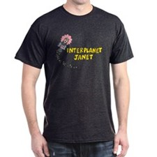 Interplanet Janet Dark T-Shirt