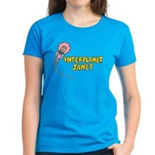 Interplanet Janet Women's Dark T-Shirt