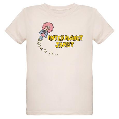 Interplanet Janet Organic Kids T-Shirt