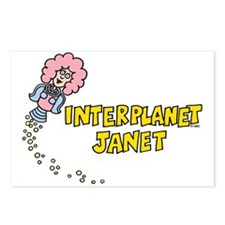 Interplanet Janet Postcards (Package of 8)