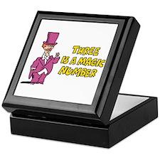 Magic Number Keepsake Box