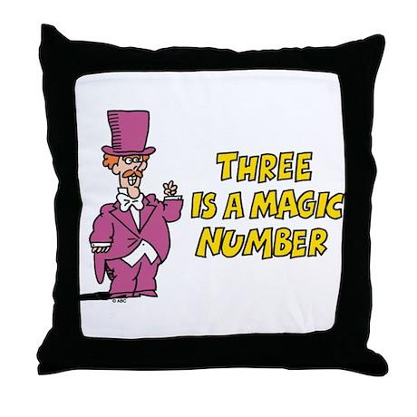 Magic Number Throw Pillow