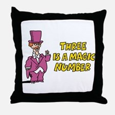 Magic Number Throw Pillow