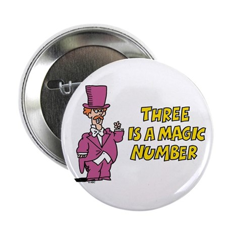 """Magic Number 2.25"""" Button"""