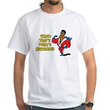 Verbs White T-Shirt