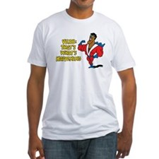 Verbs Fitted T-Shirt