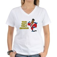 Verbs Women's V-Neck T-Shirt