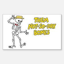 Not-So-Dry Bones Decal