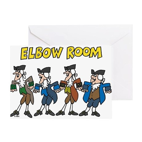 Elbow Room Greeting Card