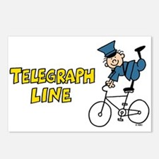 Telegraph Lane Postcards (Package of 8)