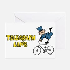Telegraph Lane Greeting Card
