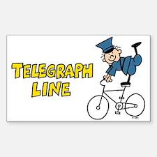 Telegraph Lane Decal
