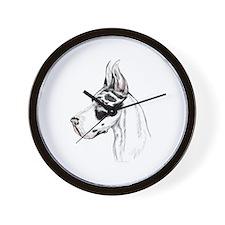 Great Dane Harle HS (fem) Wall Clock