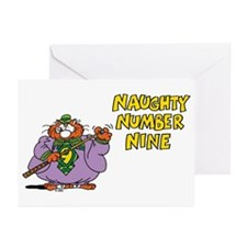 Number Nine Greeting Cards (Pk of 10)