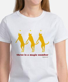 Magic Number 3 Women's T-Shirt