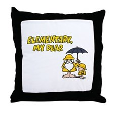 Elementary Throw Pillow