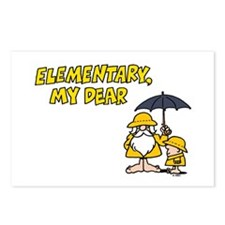 Elementary Postcards (Package of 8)