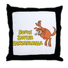 Rufus Xavier Throw Pillow
